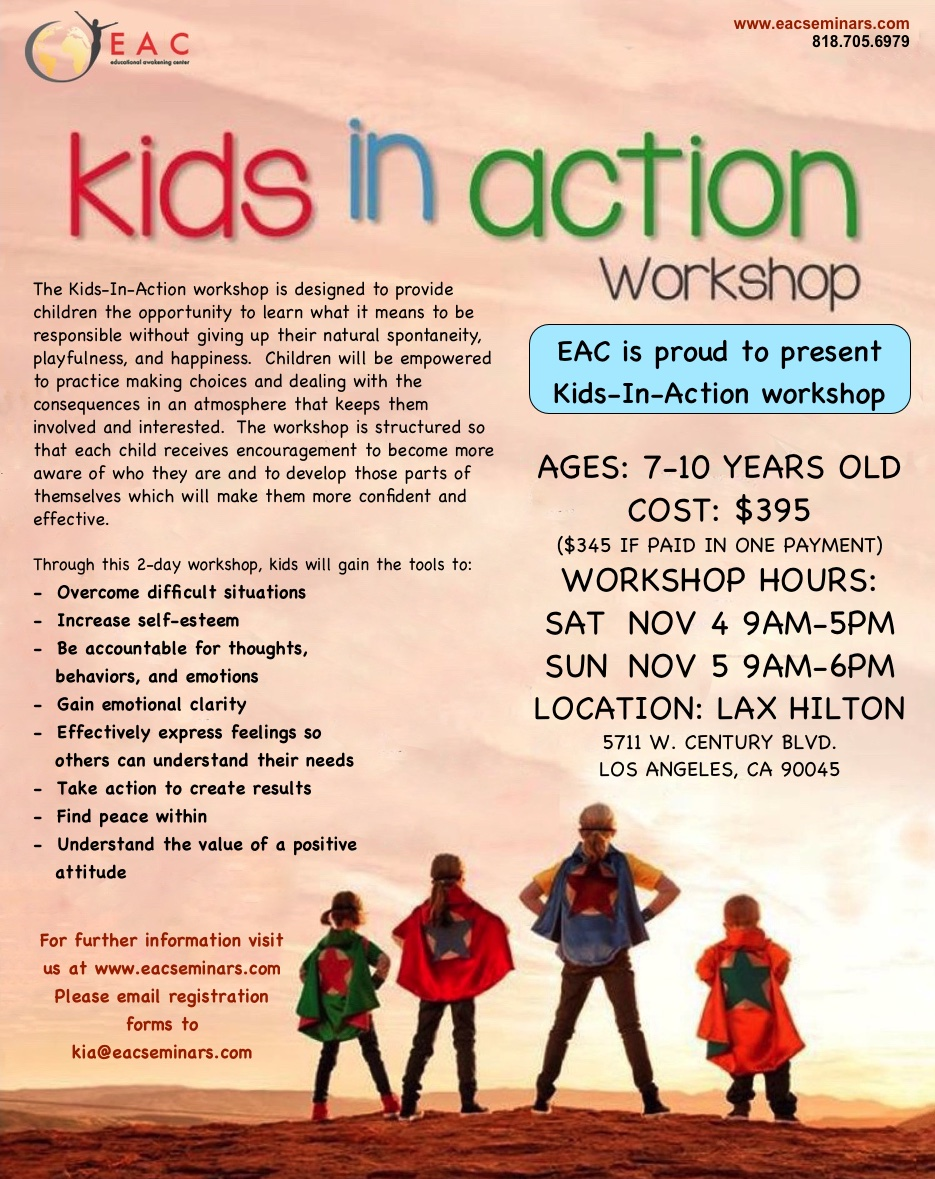 Kids in Action - Educational Awakening Center